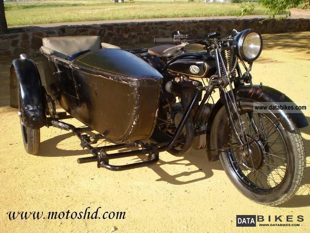 NSU  T-501 sidecar 1928 Vintage, Classic and Old Bikes photo