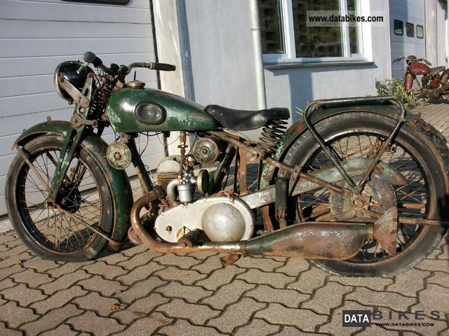 NSU  Built in about 1934 ZDL 201 1934 Vintage, Classic and Old Bikes photo