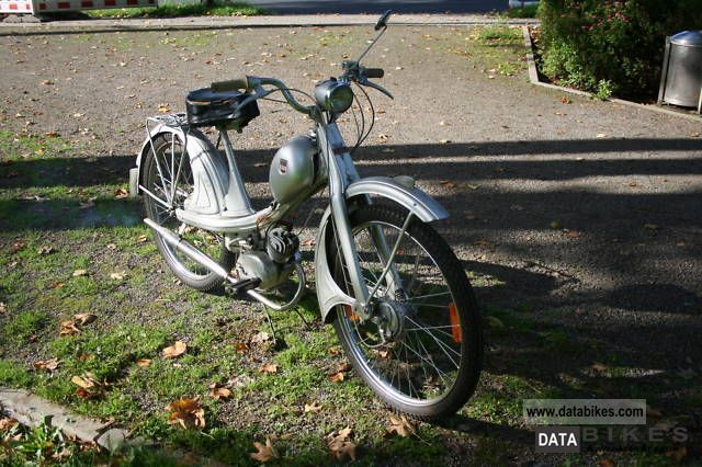 NSU  Quickly / 51TZ / 2 speed / moped 1959 Vintage, Classic and Old Bikes photo