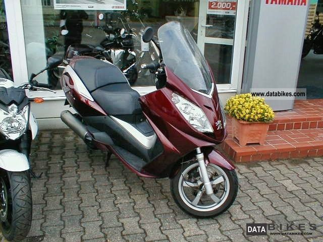 2007 Peugeot  125 SATELIS ROLLER 9951KM!!!! Motorcycle Scooter photo