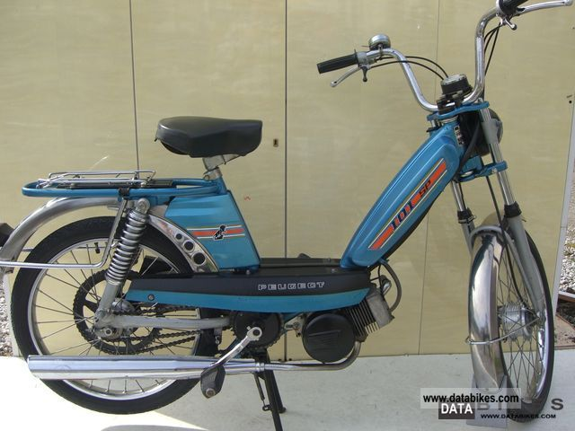 1981 Peugeot  101 SP-D Motorcycle Motor-assisted Bicycle/Small Moped photo