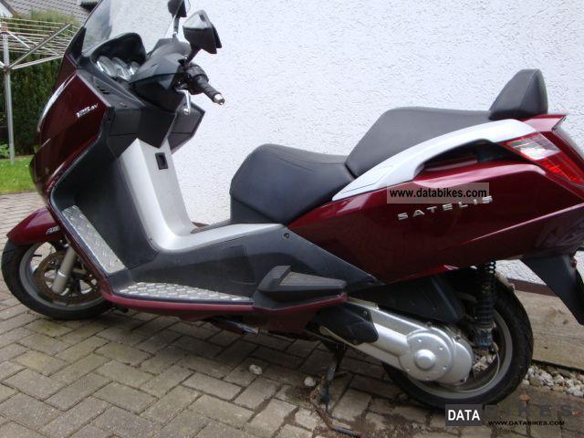 2007 Peugeot  Satelis Motorcycle Scooter photo