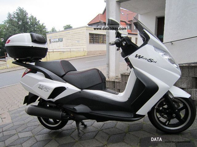 2010 Peugeot  125 K White Sun Motorcycle Scooter photo