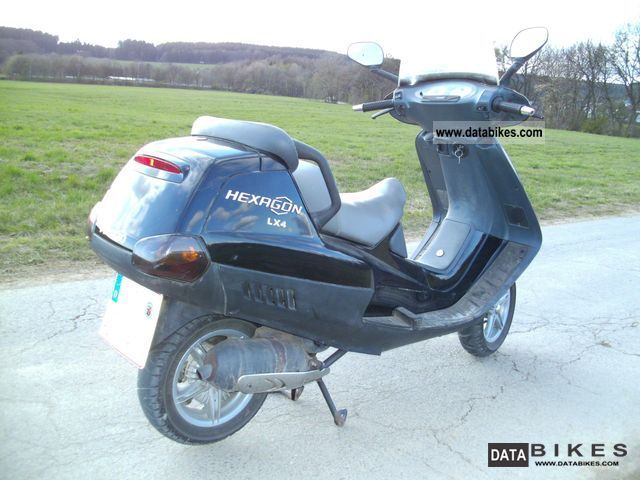 2004 Peugeot  Hexagon LX 4 very good condition New Tüv Motorcycle Scooter photo