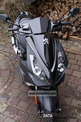 2009 Peugeot  C-Tech 50 Dark Side Motorcycle Scooter photo