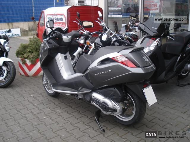 2011 Peugeot  Satelis 500 Motorcycle Scooter photo