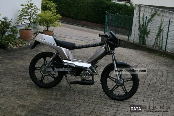 1991 Peugeot  103 RCX Motorcycle Motor-assisted Bicycle/Small Moped photo