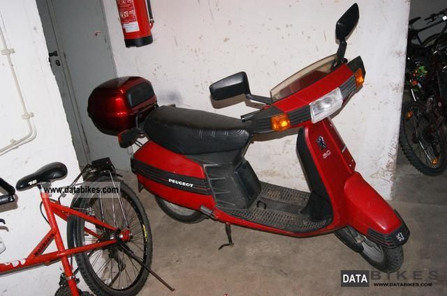 1990 Peugeot  FO 51-D Motorcycle Scooter photo