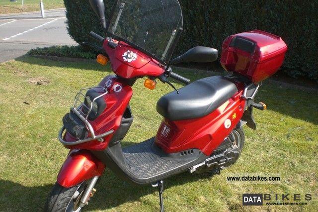 1997 PGO  Big Max 90 Motorcycle Scooter photo