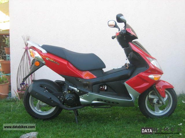 2008 PGO  G-Max 50 Motorcycle Scooter photo