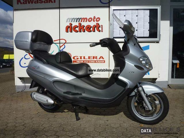 2006 Piaggio  EVOLUTION X 9125 SILVER LINE SCOOTING Motorcycle Scooter photo