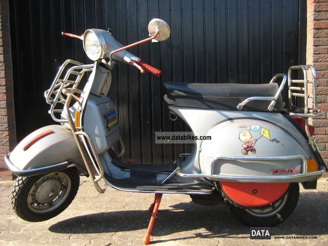 Piaggio  Vespa P200 E 1978 Vintage, Classic and Old Bikes photo