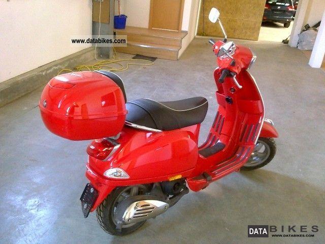 Piaggio  VESPA 50 LX 2008 Scooter photo