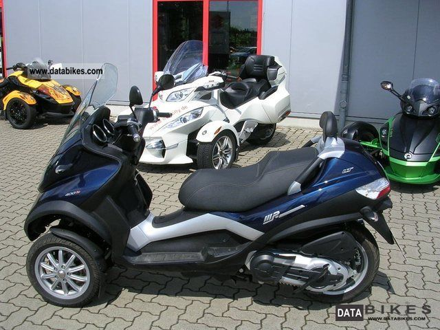 2009 piaggio mp3 400 lt touring. Black Bedroom Furniture Sets. Home Design Ideas