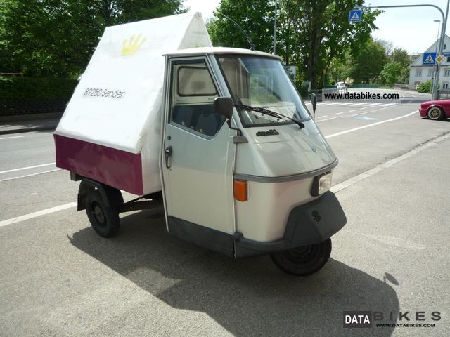 1995 piaggio ape 50 special limited editon. Black Bedroom Furniture Sets. Home Design Ideas