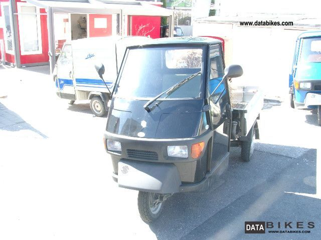 2009 Piaggio  Ape 50 pick-up with aluminum wall Motorcycle Other photo