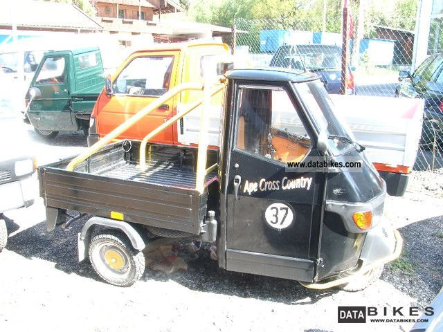 2001 Piaggio  Ape 50 Cross Country Craft Vehicle! Motorcycle Other photo
