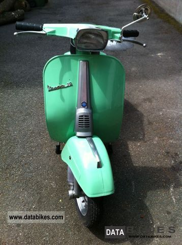 Piaggio  Vespa 50 Special Year 70 German papers, top states 1970 Vintage, Classic and Old Bikes photo