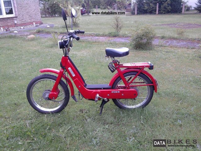 1992 Piaggio  CIAO Motorcycle Motor-assisted Bicycle/Small Moped photo