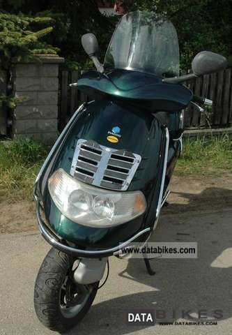 Piaggio  Motorcycles on 1999 Piaggio Hexagon Gt 250 Motorcycle Scooter Photo 2