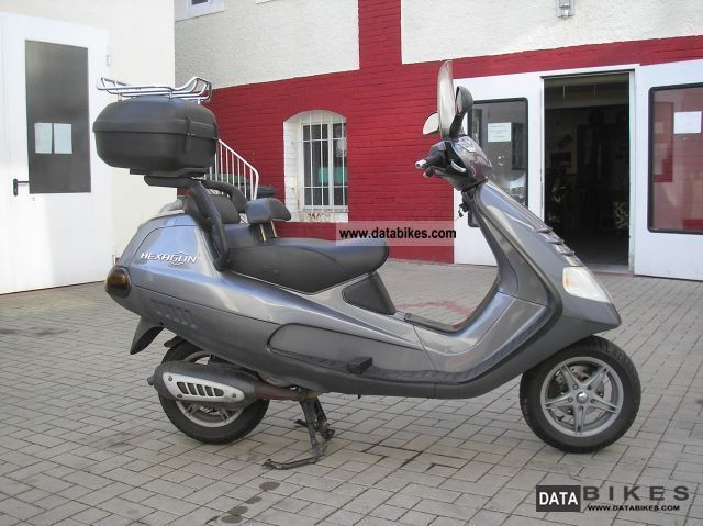 1999 Piaggio LX 125 Hexagon 125 ----/u003e maintained