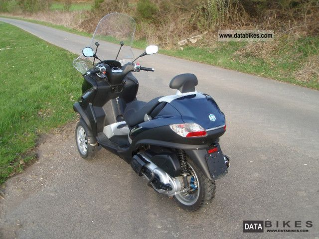 2008 piaggio mp3 400 ie 7567km from 1.hand trade-in mp 3