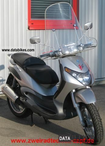 2001 Piaggio  Beverly 125 Motorcycle Scooter photo