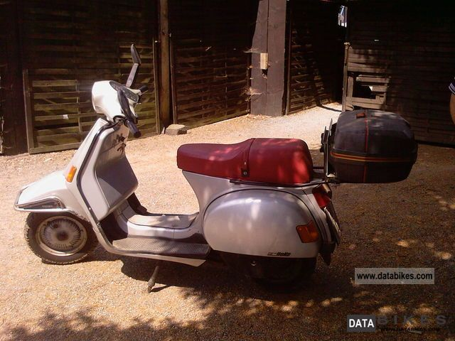 1988 piaggio vespa cosa lx 200. Black Bedroom Furniture Sets. Home Design Ideas