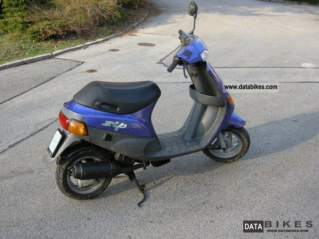 1996 piaggio ssl 25 zip moped scooter. Black Bedroom Furniture Sets. Home Design Ideas