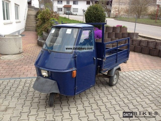 1990 piaggio ape 50 tl4t elestart. Black Bedroom Furniture Sets. Home Design Ideas