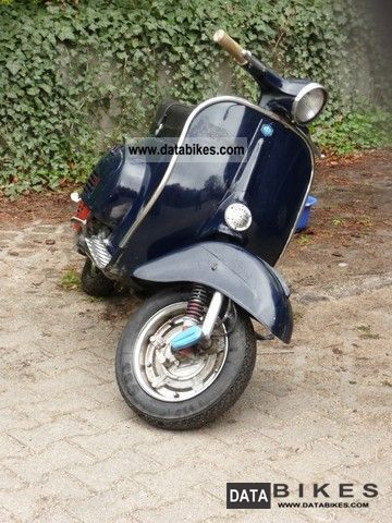 Moped 1969 on 1969 Piaggio Vespa Motorcycle Scooter Photo