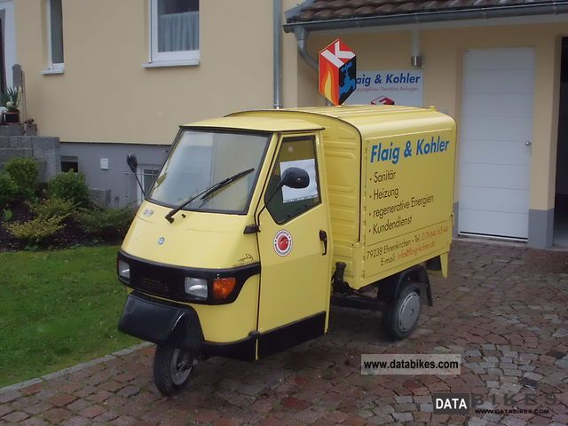 2008 Piaggio  APE Motorcycle Lightweight Motorcycle/Motorbike photo