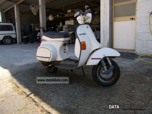 1987 Piaggio  Vespa PK 50 XL RUSH Motorcycle Motorcycle photo