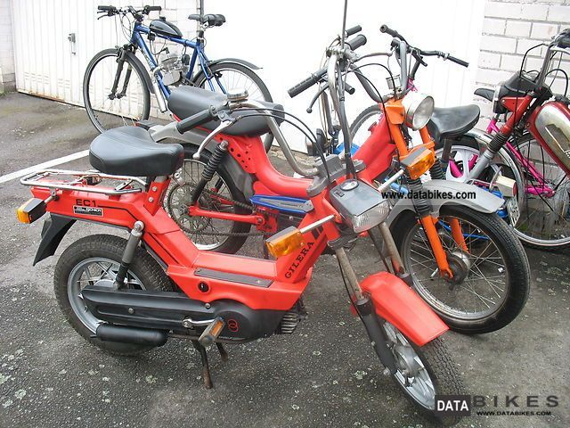 1985 Piaggio  EC1 GILERA bicycle with auxiliary engine Motorcycle Motor-assisted Bicycle/Small Moped photo