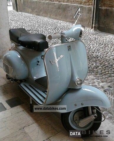 Piaggio  Vespa 50-1956 1956 Vintage, Classic and Old Bikes photo