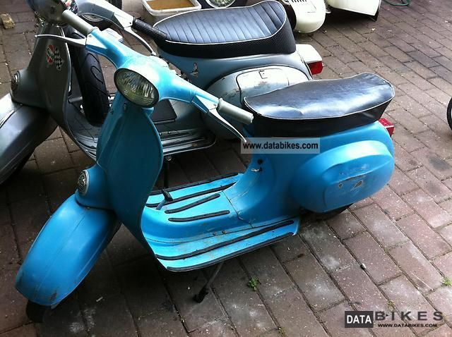 1968 Piaggio  V50 Motorcycle Scooter photo