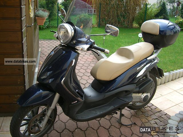 2008 Piaggio  beverly 125 Motorcycle Tourer photo