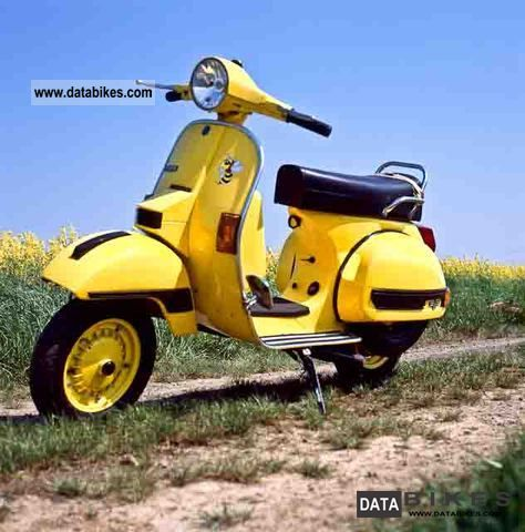 1988 Piaggio  200 px VSX1T Motorcycle Scooter photo