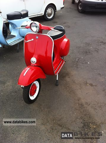 Piaggio  Vespa 50N 1962 Vintage, Classic and Old Bikes photo