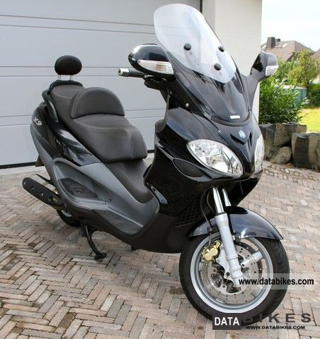 Piaggio  Motorcycles on 2008 Piaggio X9 500 Evolution Motorcycle Scooter Photo 2