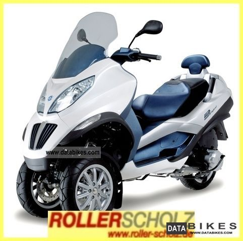2011 Piaggio  MP3 300 Touring i.e. LT HYBRID Motorcycle Scooter photo