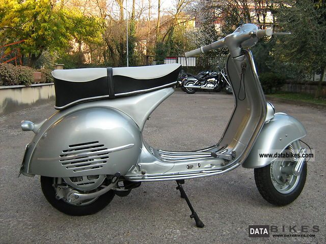 Piaggio  Vespa GS 3 Augsburg Messerschmitt 1961 Vintage, Classic and Old Bikes photo