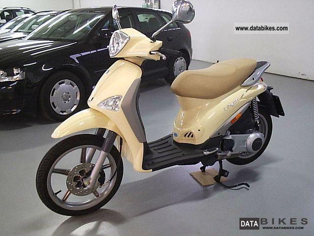 Piaggio  Liberty 125 EURO 3 4T * come SCARABEO - VESPA * 2008 Scooter photo