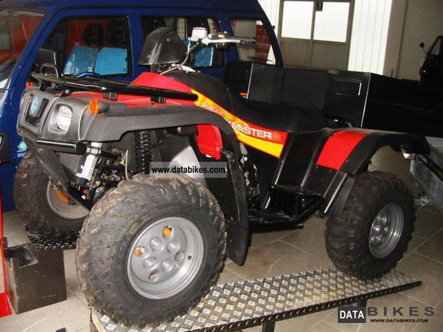 2010 Piaggio  TRACK MASTER 500 Motorcycle Quad photo