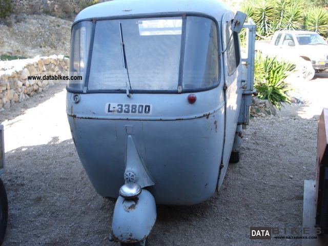 1960 Piaggio  ape ac Motorcycle Other photo