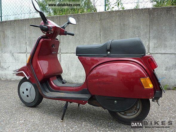 1991 Piaggio Vespa Lx 200 Cosa