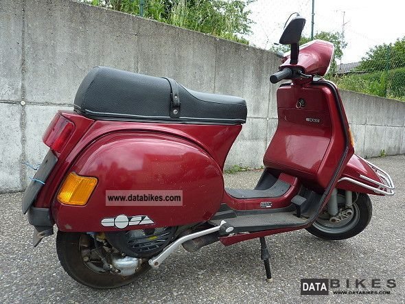 1991 piaggio vespa lx 200 cosa. Black Bedroom Furniture Sets. Home Design Ideas