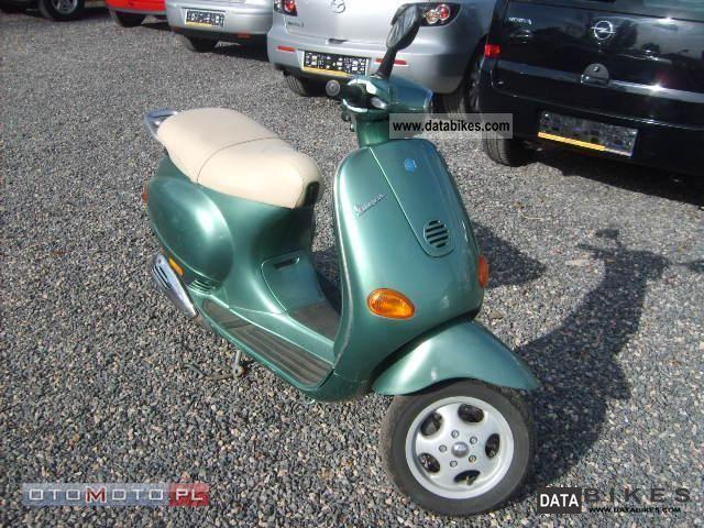 1997 Piaggio  * Vespa * ZADBANA Motorcycle Scooter photo