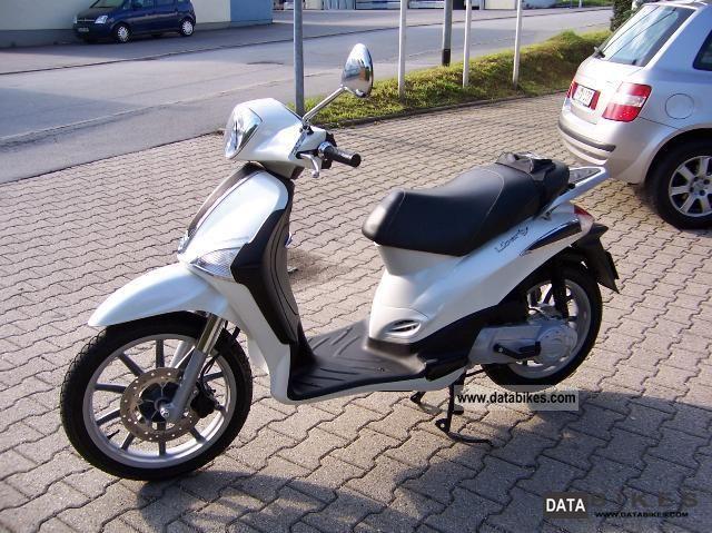 2010 piaggio liberty moped conversion including
