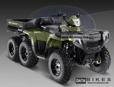 2011 Polaris  Sportsman 6x6 with coupon 800 - with LoF Motorcycle Quad photo